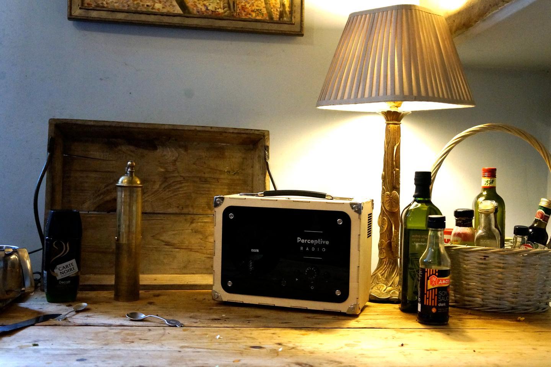 The Perceptive Radio can change a radio play script based on its environment (Photo: Mudlark)