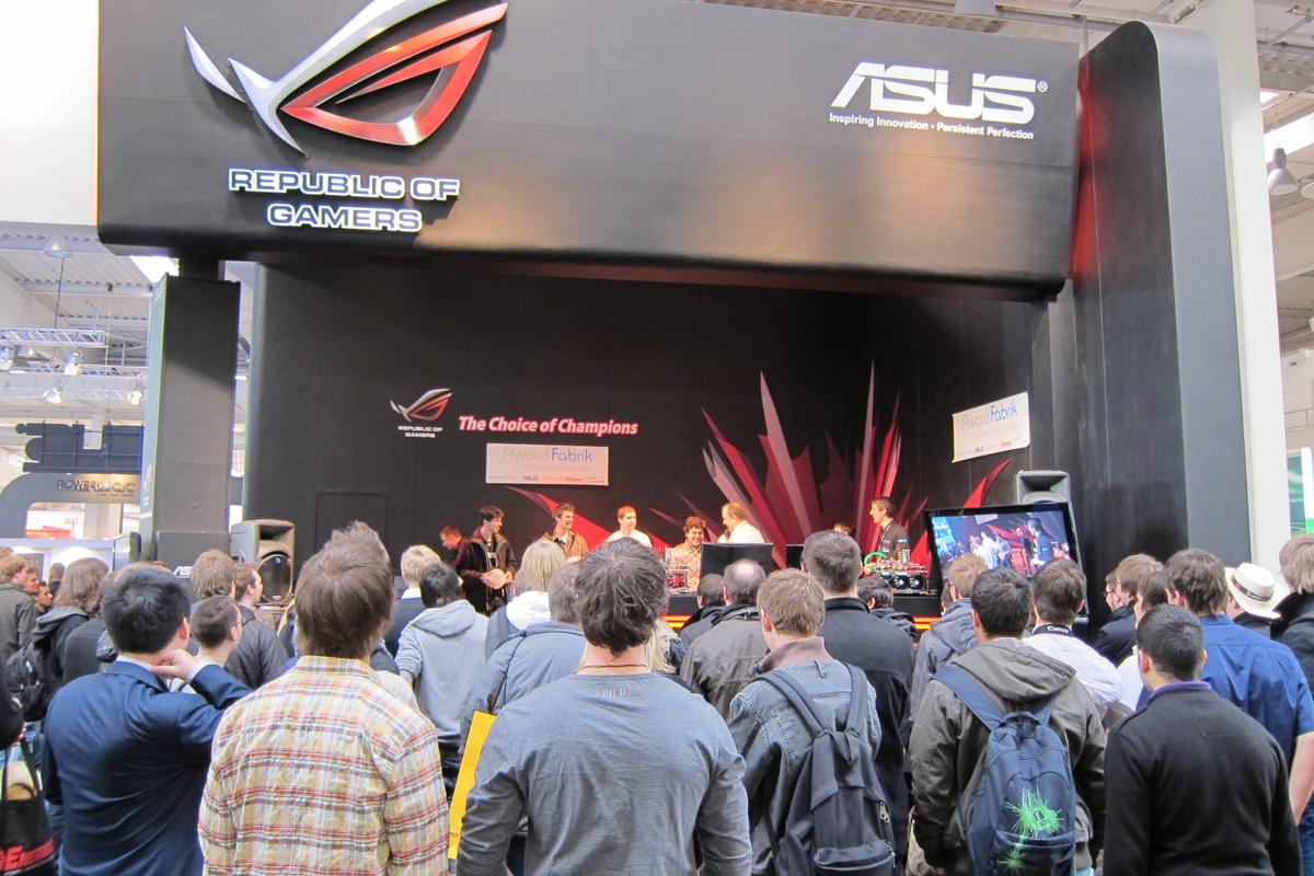 ASUS' gaming wing, the Republic of Gamers, has revealed its new line-up of notebooks, mainboards, graphics cards, monitors, routers and headsets at CeBIT 2011