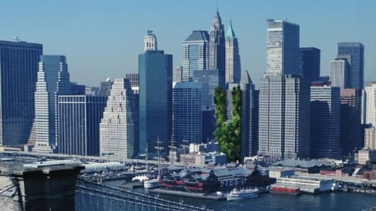 Artists impression of a VES in New York
