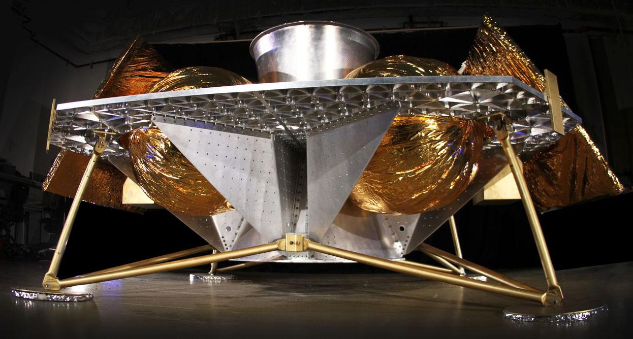 Astrobotic Technology's Griffin lander (Image: Astrobotic Technology)