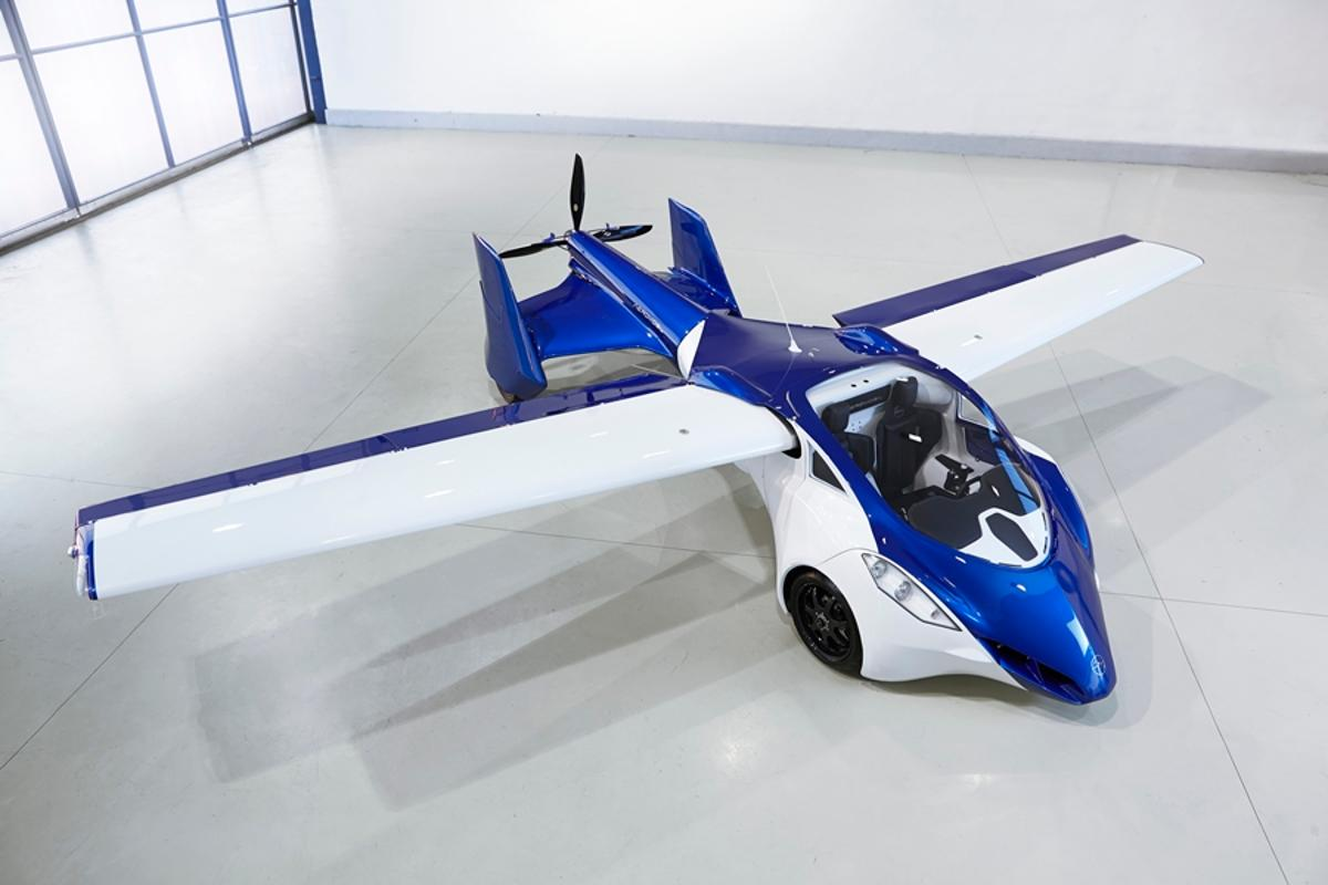 The AeroMobil 3.0 flying car prototype has been unveiled