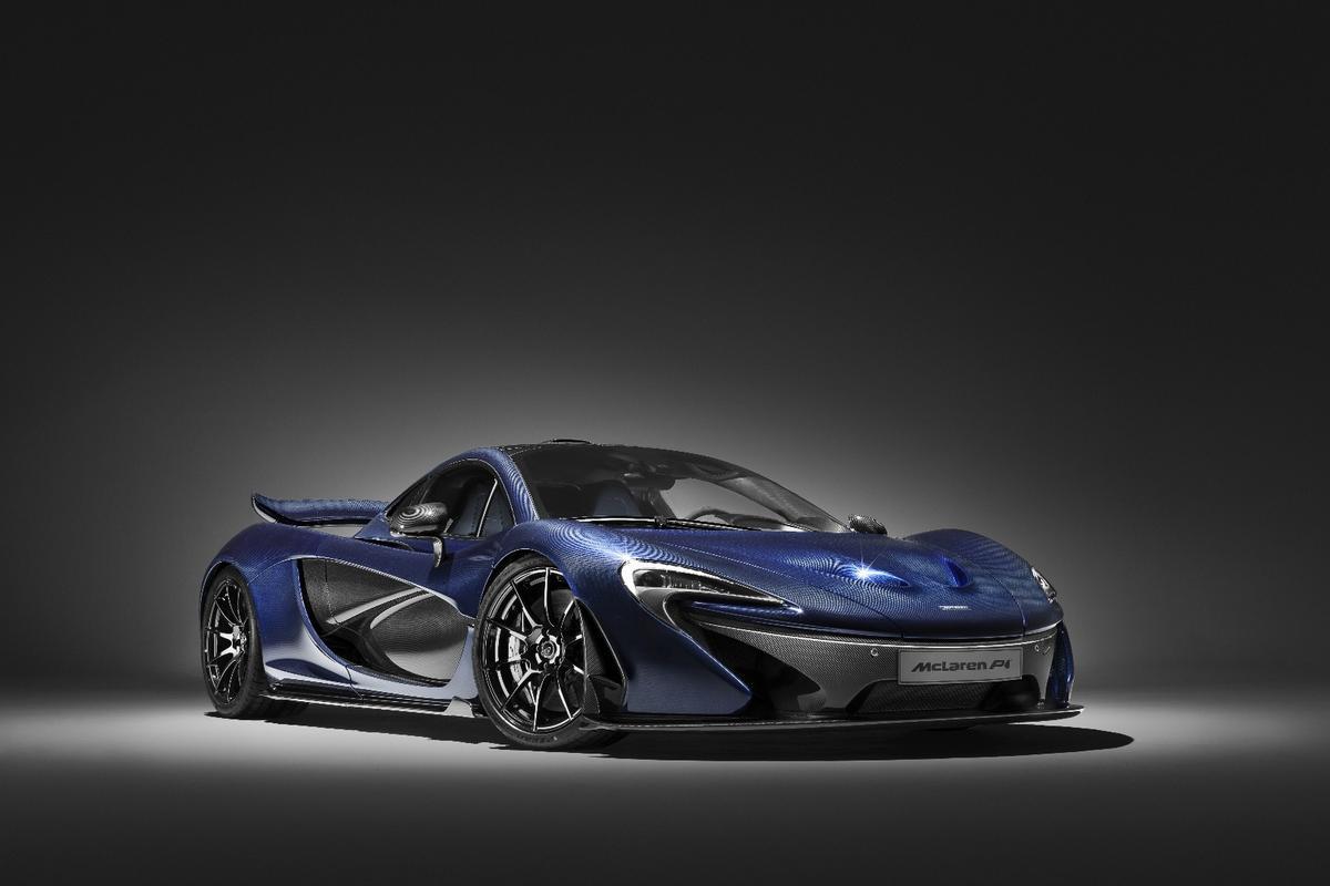 """The """"Special Ops"""" McLaren P1"""