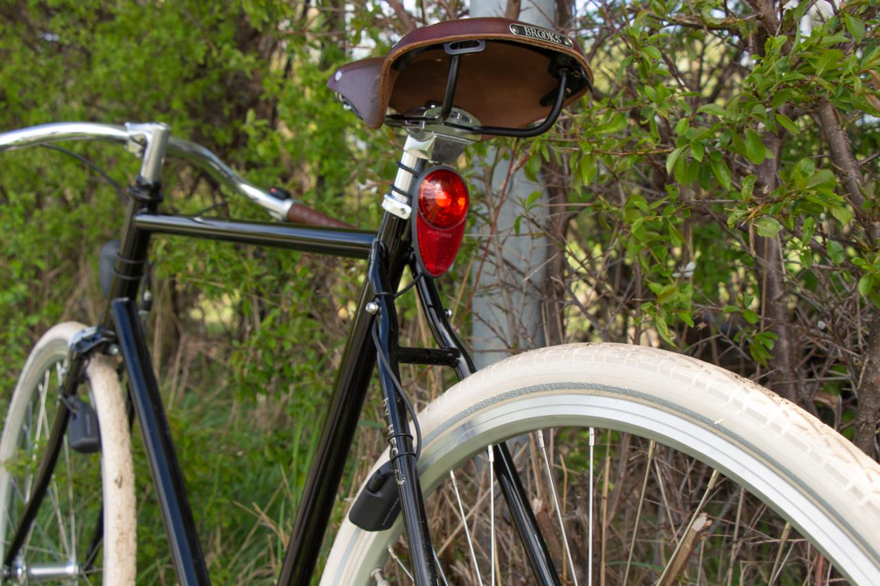 The Reelight Nova tail light puts out 30 lumens when the bike is travelling at a speed of 30 km/h (19 mph)