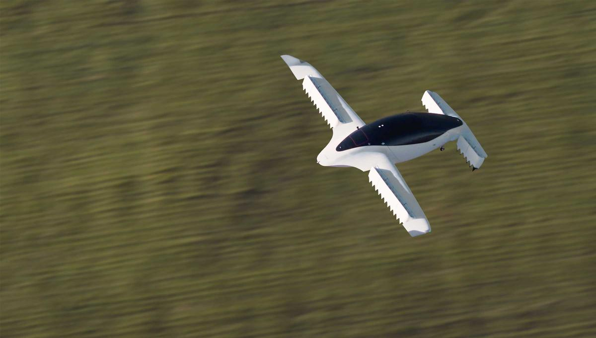 Lilium's five-seater eVTOL has now been shown flying at over 100 km/h