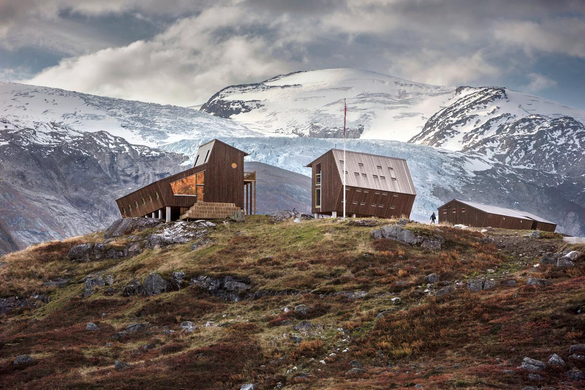 Tungestølen currently consists of three cabins, though a total of nine are planned