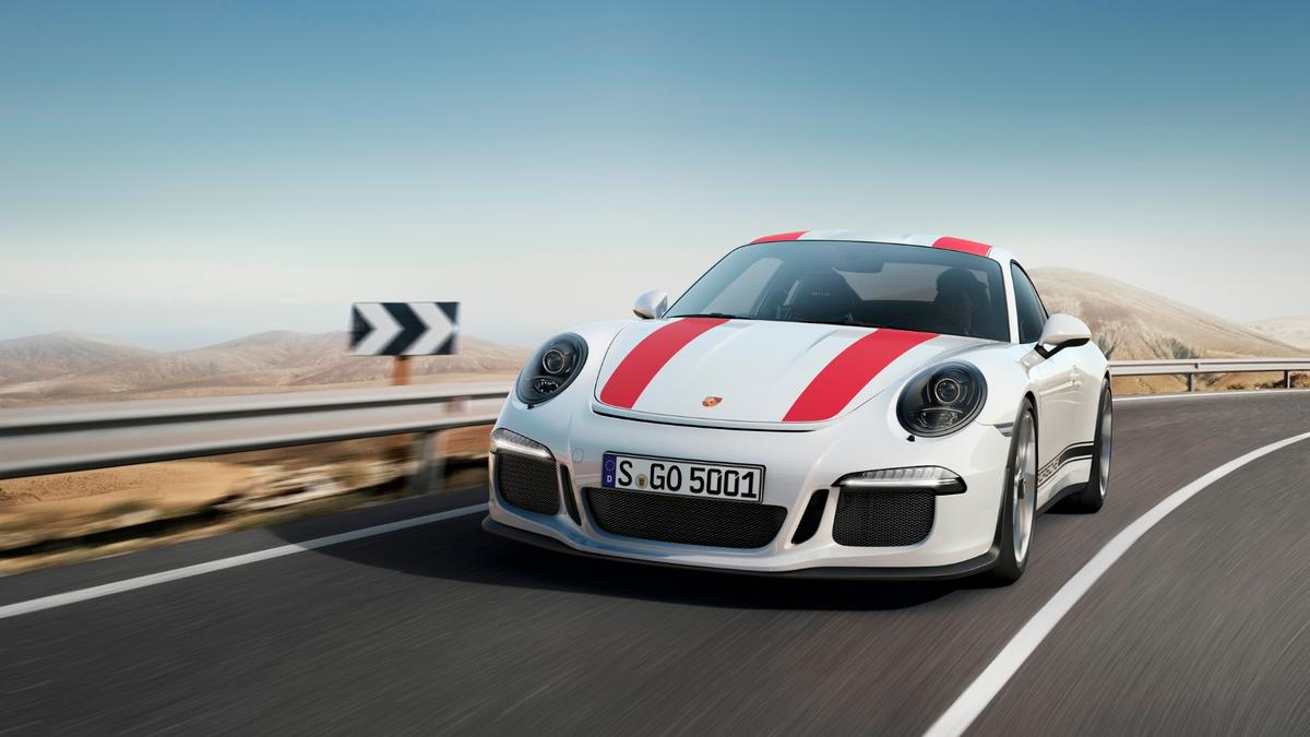 Porsche 911 R: Porsche is appealling to purist buyers who didn't want a double clutch gearbox