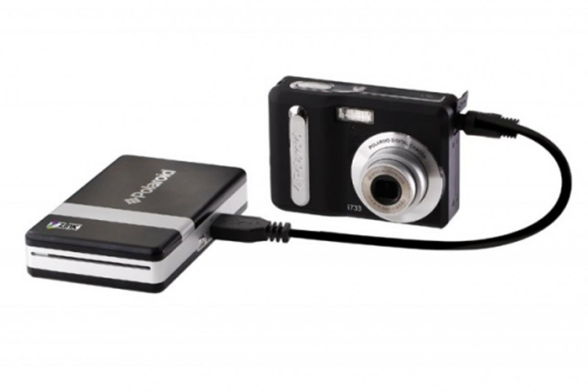 The Polaroid pocket-sized Zink printer