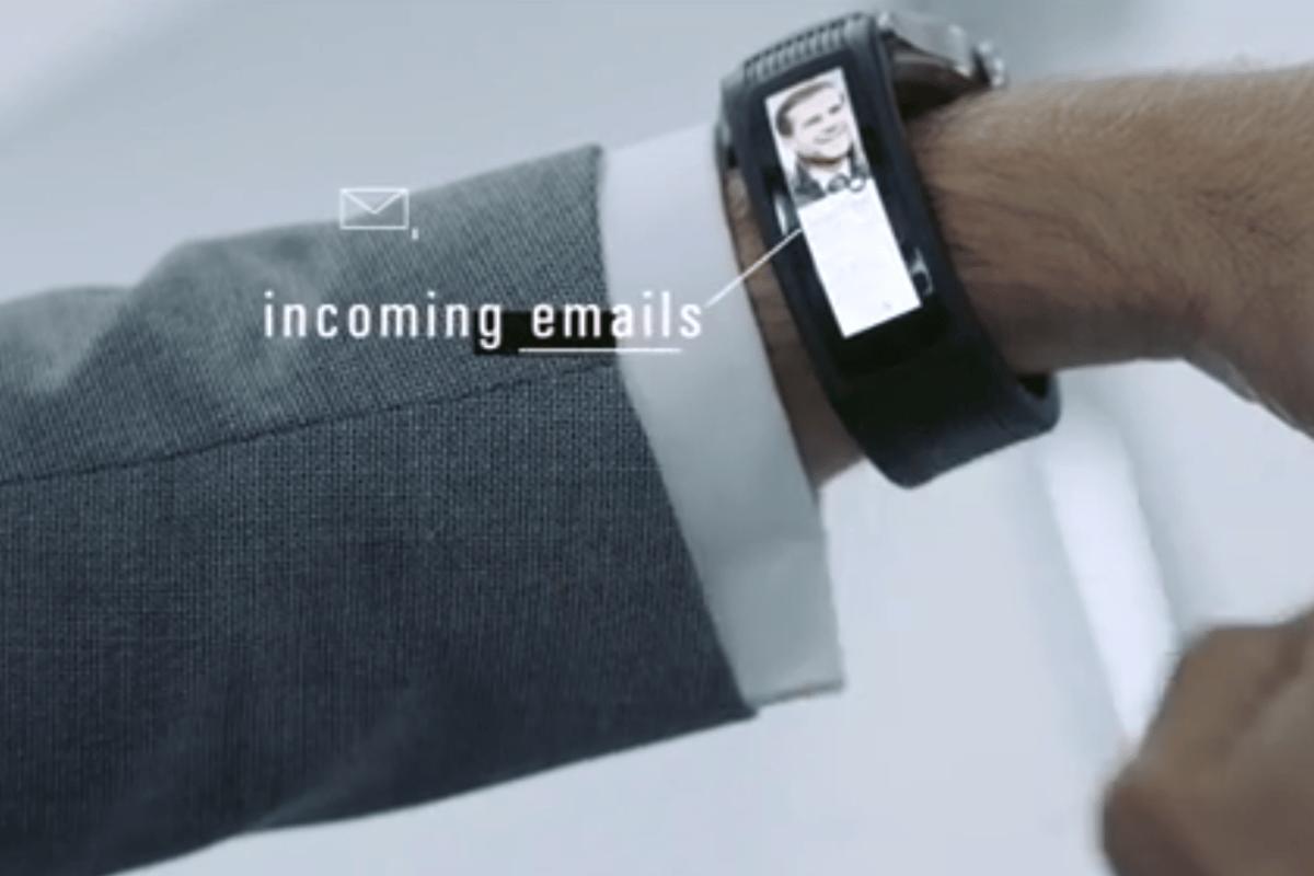 Karios Tband provides push notifications