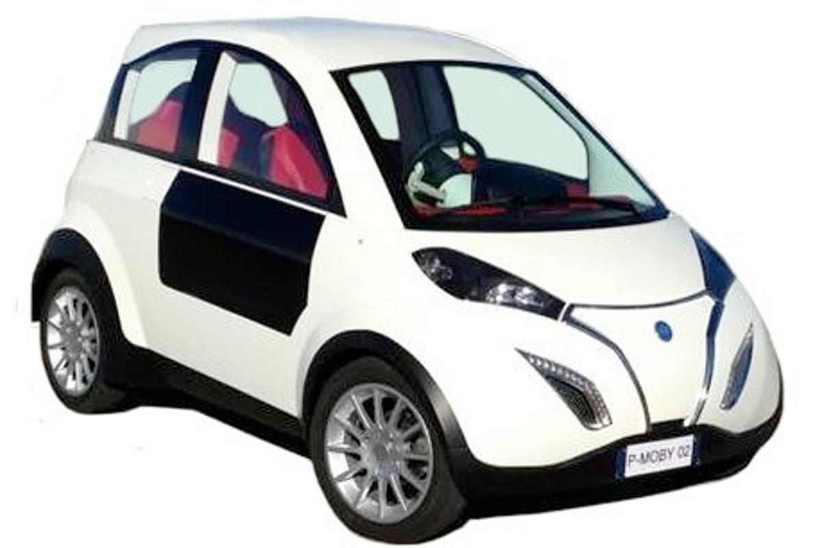 The P-MOB prototype electric car