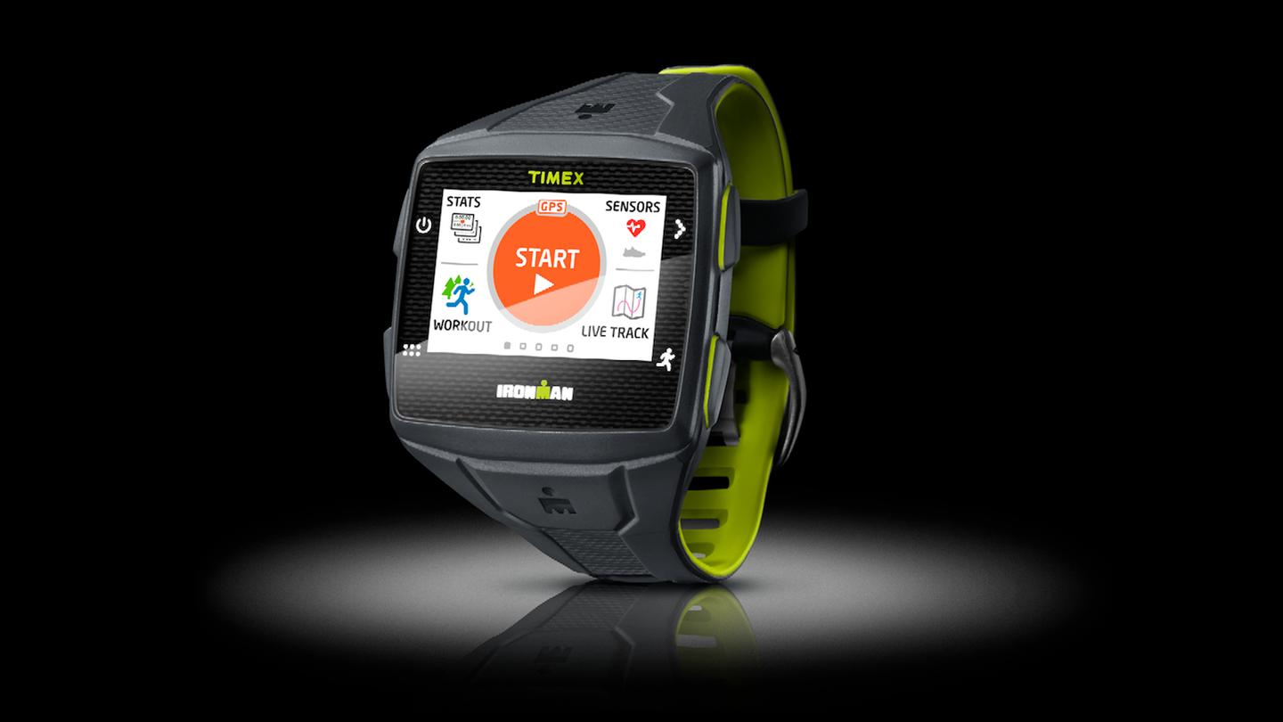 The Ironman One GPS+ is a standalone, fitness-focused smartwatch