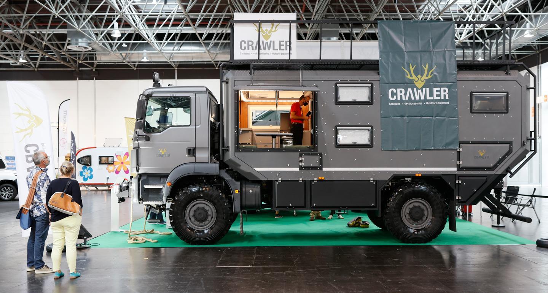 Crawler Otag 600 on show at the 2020 Düsseldorf Caravan Salon