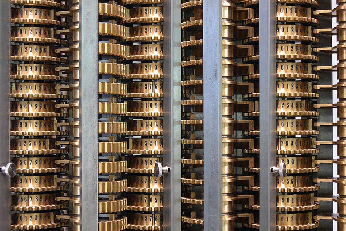 Babbage's Difference Engine was completed from original designs in 1991... the task of building the Analytical Engine is even more complex (Photo: Carsten Ullrich – Creative Commons)
