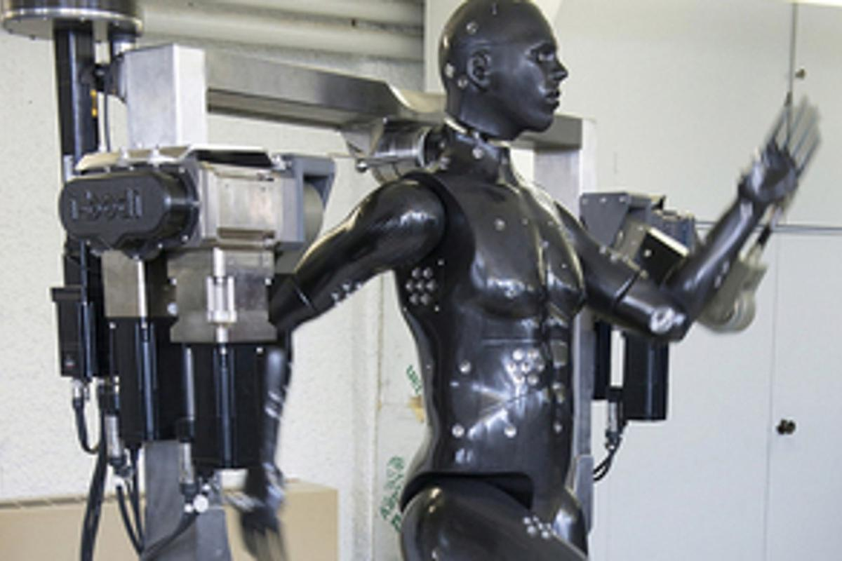 Porton Man is designed to test protective clothing for the MOD