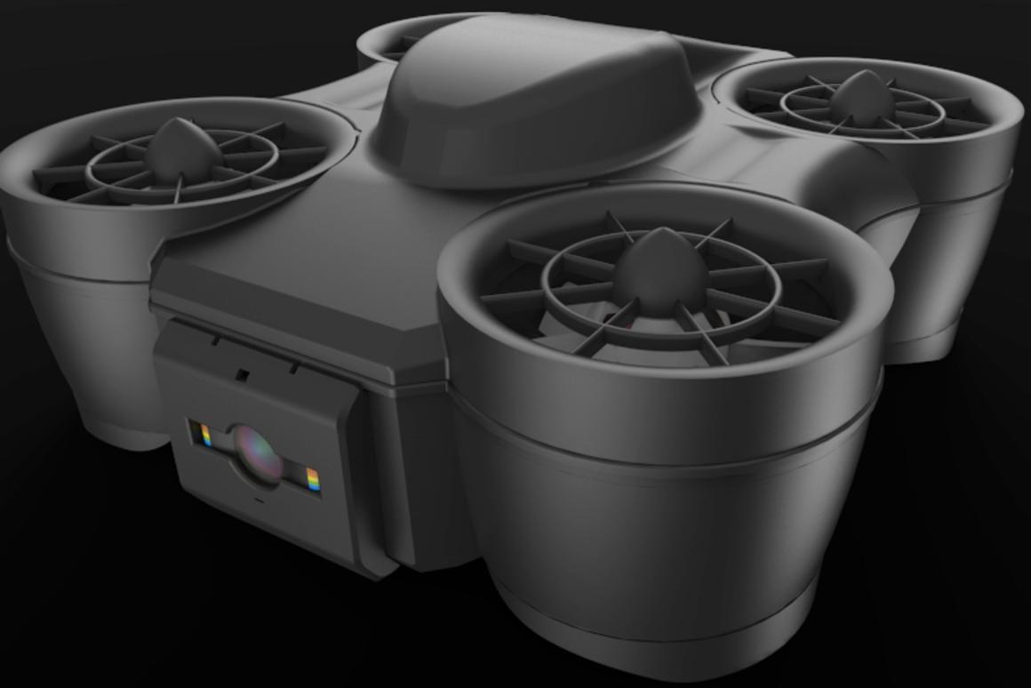 Nano Tornado drone swaps props for ducted fans