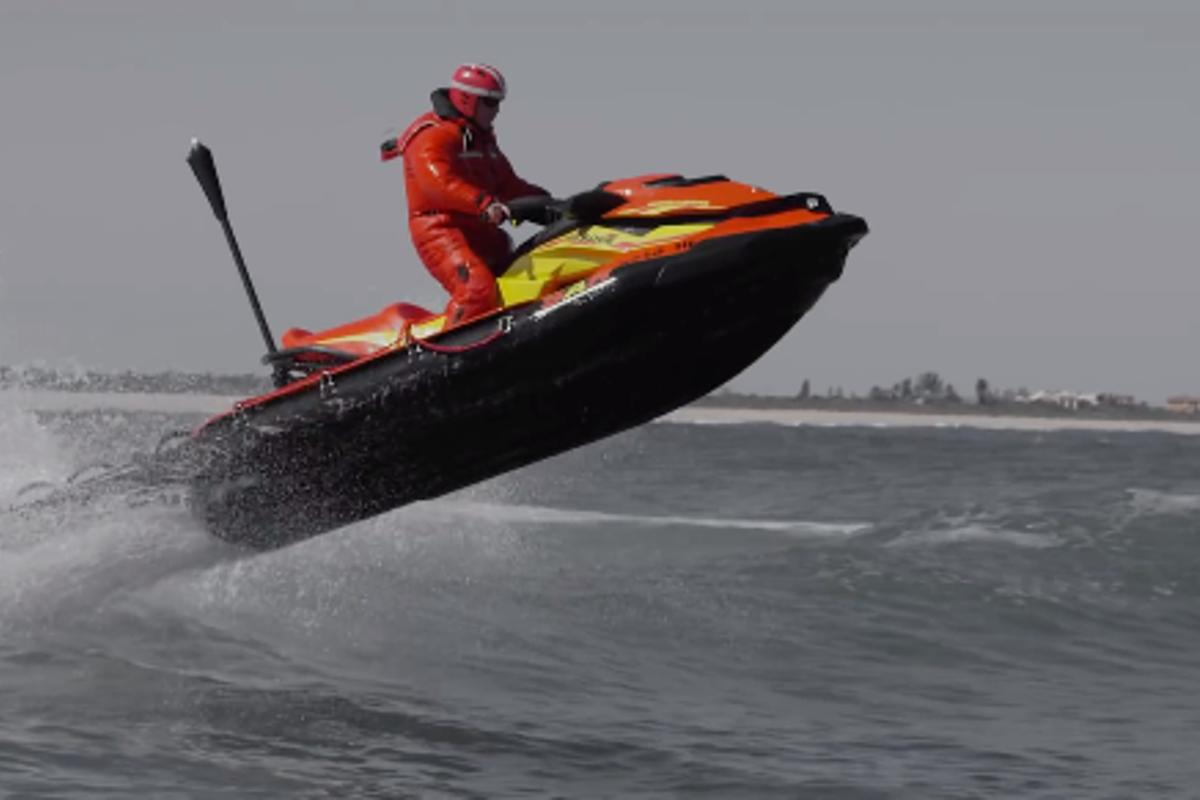 The all-new Sea-Doo Search and Rescue