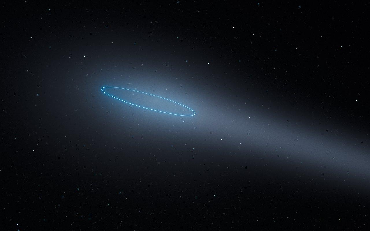 Astronomers have discovered a brand new type of celestial object: an active binary asteroid, meaning it's made of two rocks orbiting each other while leaving a trail of gas like a comet