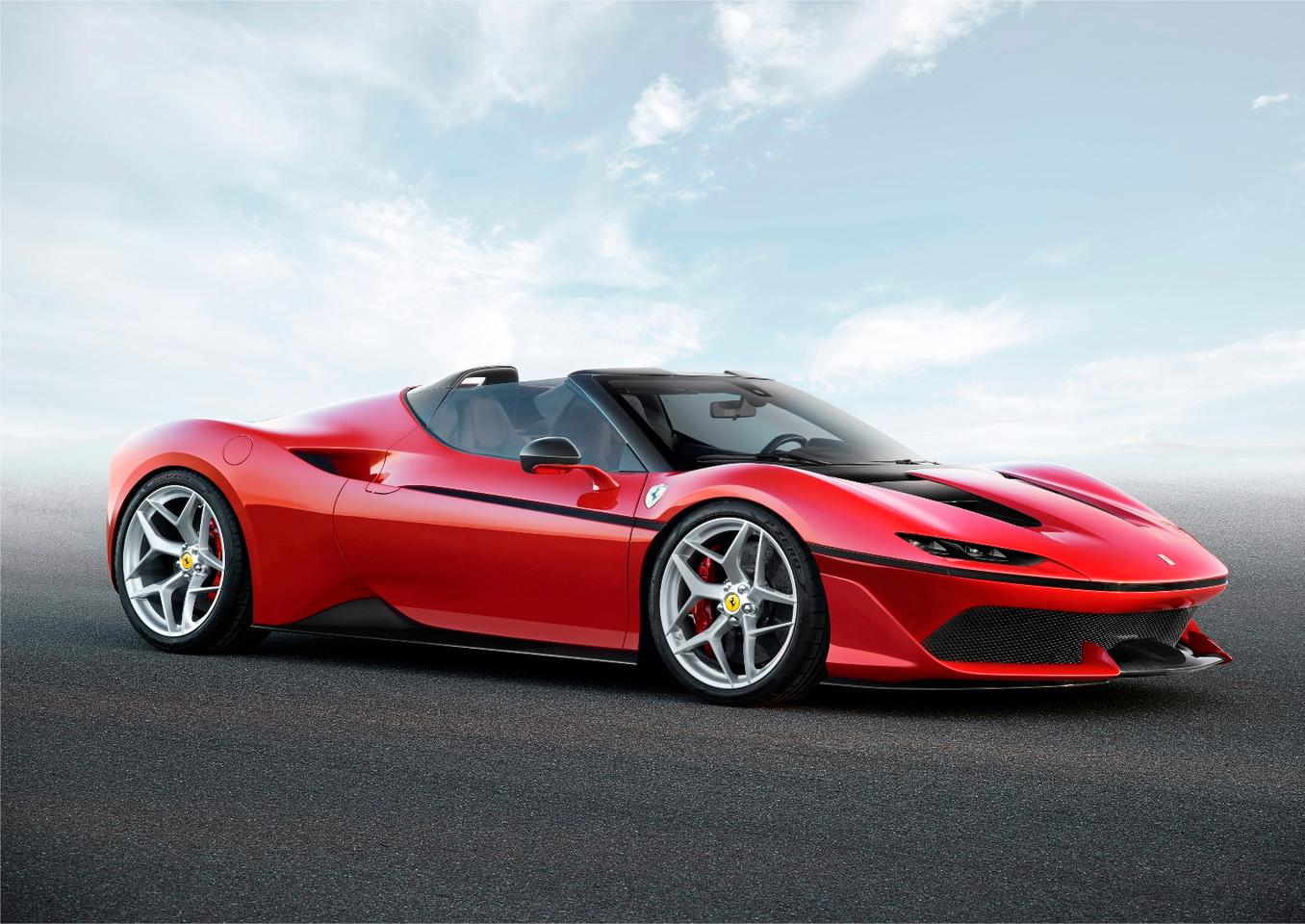 The Ferrari J50 was launched in Tokyo