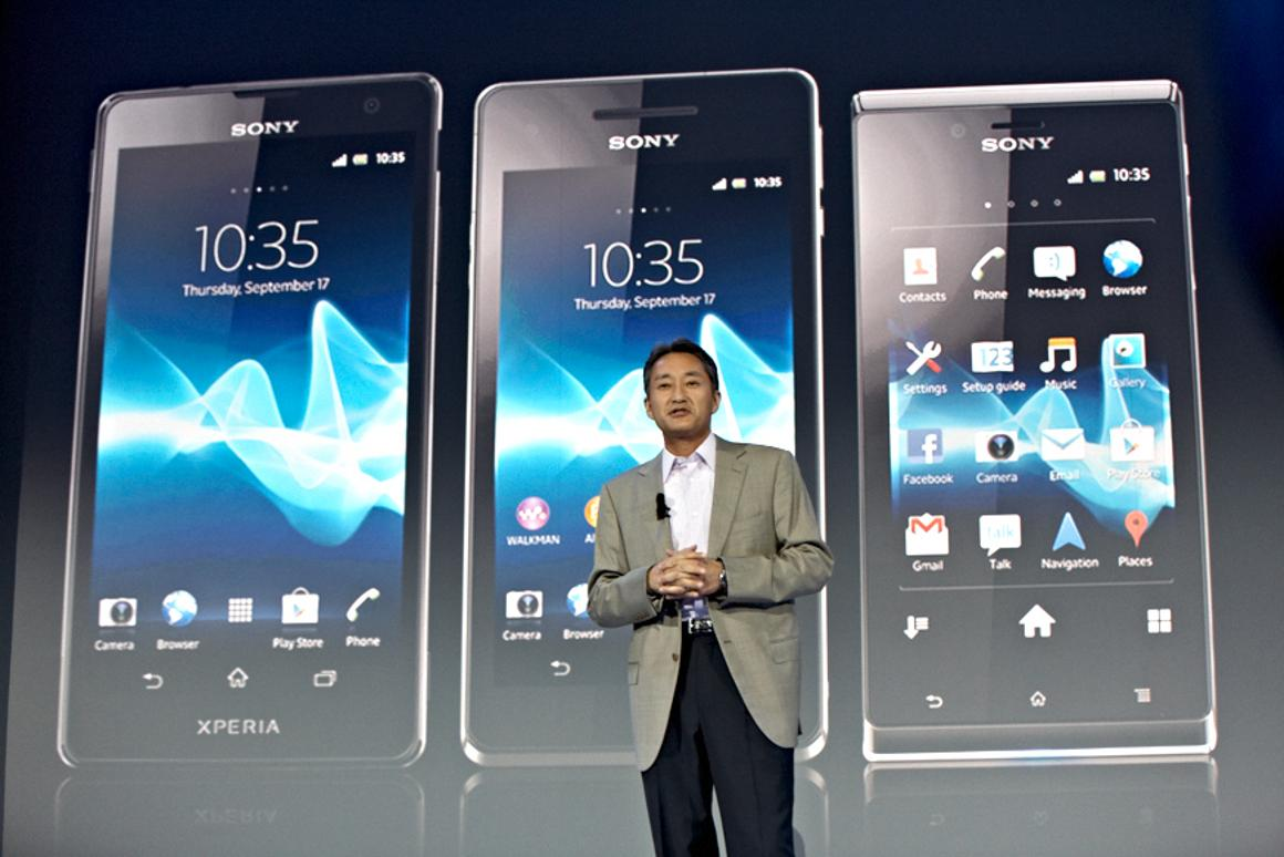 New Sony CEO Kazuo Hirai unvieled three new smartphone additions to the Sony's Xperia line at IFA