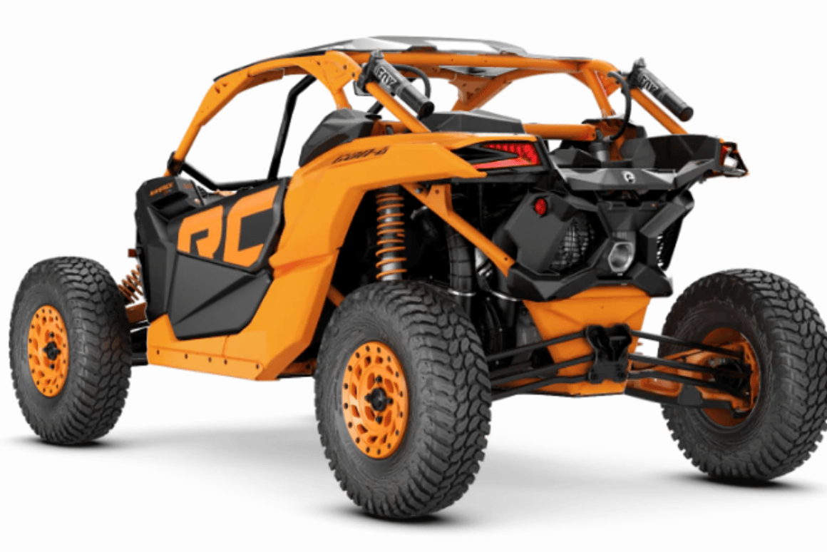 Can-Am rocks the rocks with monster 195-horsepower side-by