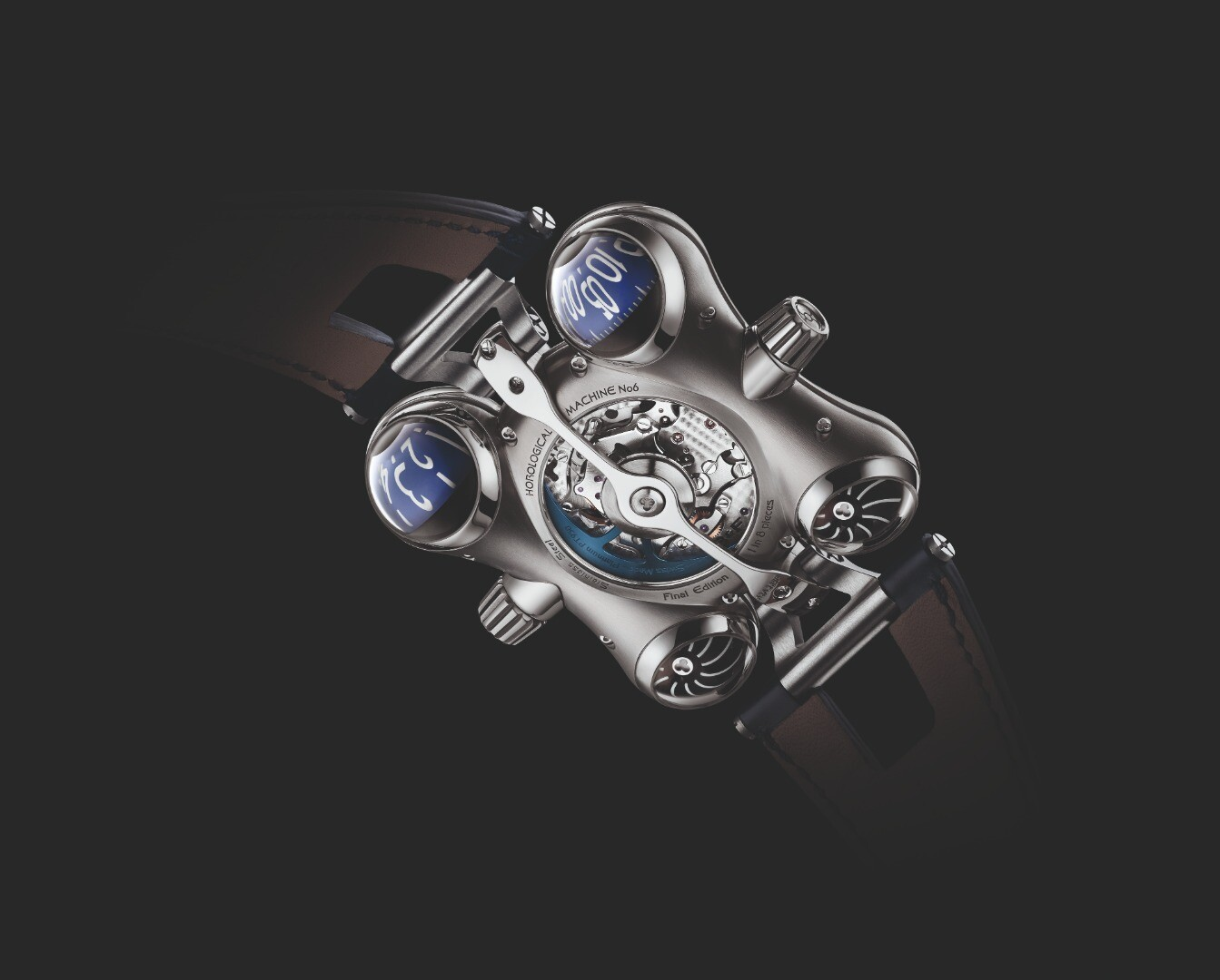 The MB&F HM6 Final Edition comes in a run of eight units