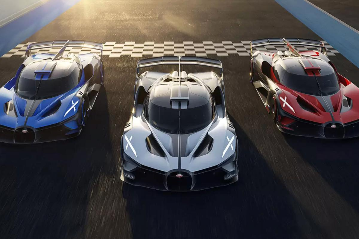 Bugatti announced its plans to build a production version of the Bolide last week at The Quail Motorsports Gathering, in California
