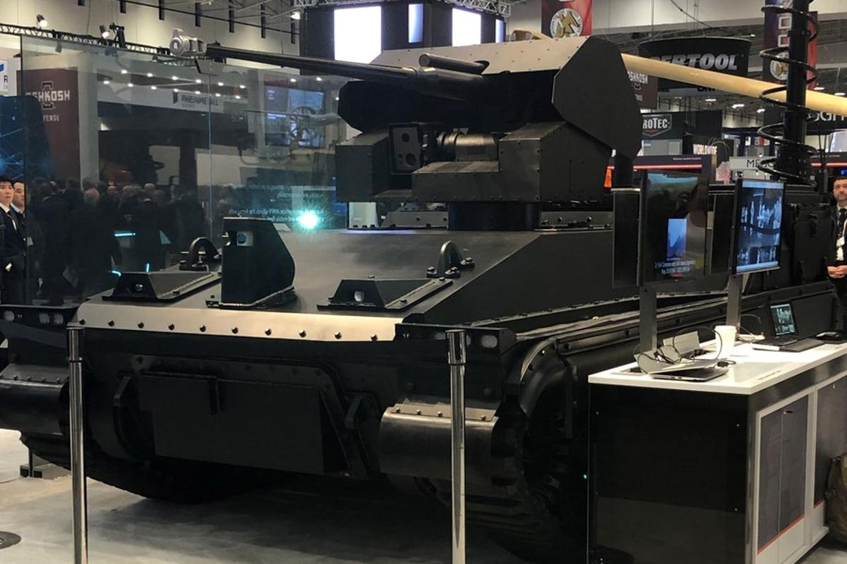 The Robotic Technology Demonstrator is designed as a rolling laboratory for combat systems