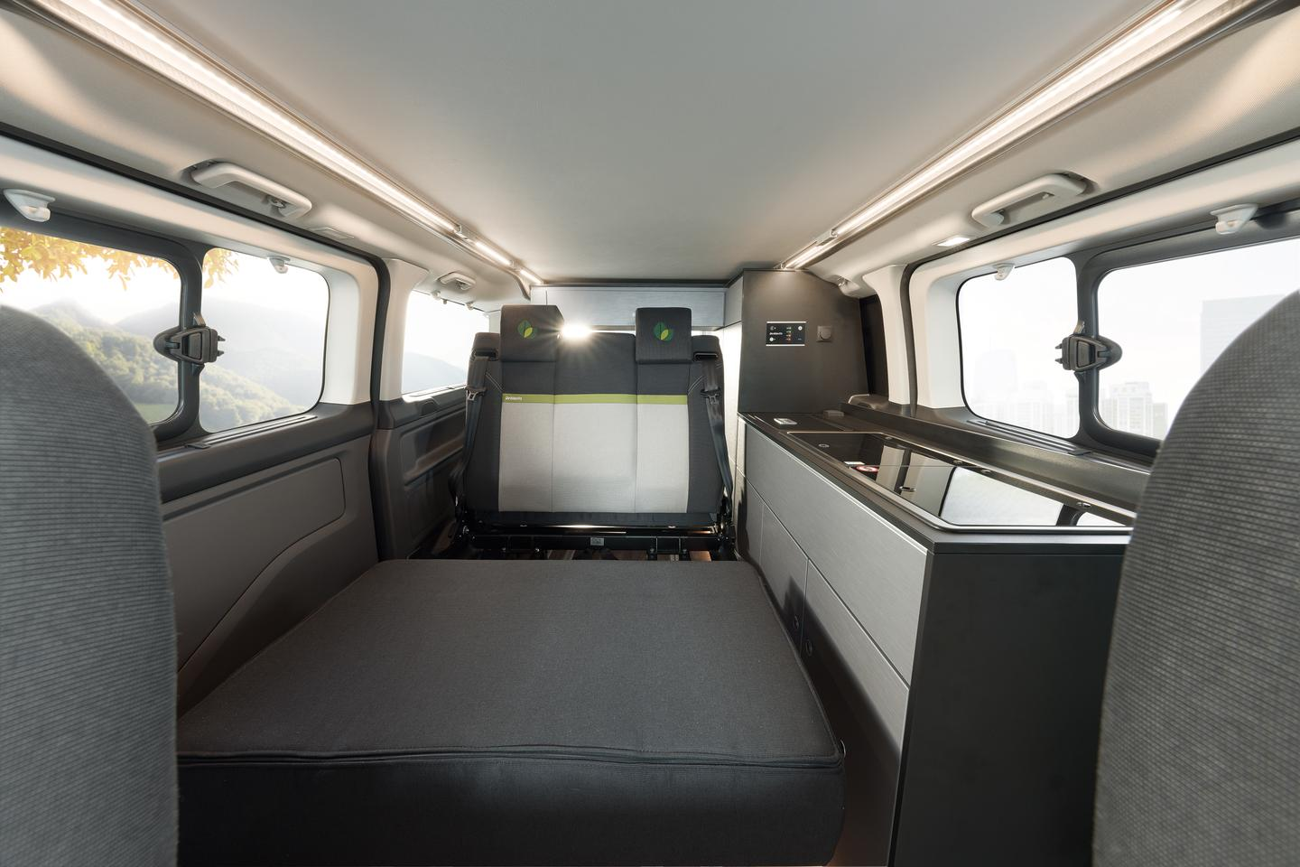 Dethleffs makes camping greener with plug-in camper van