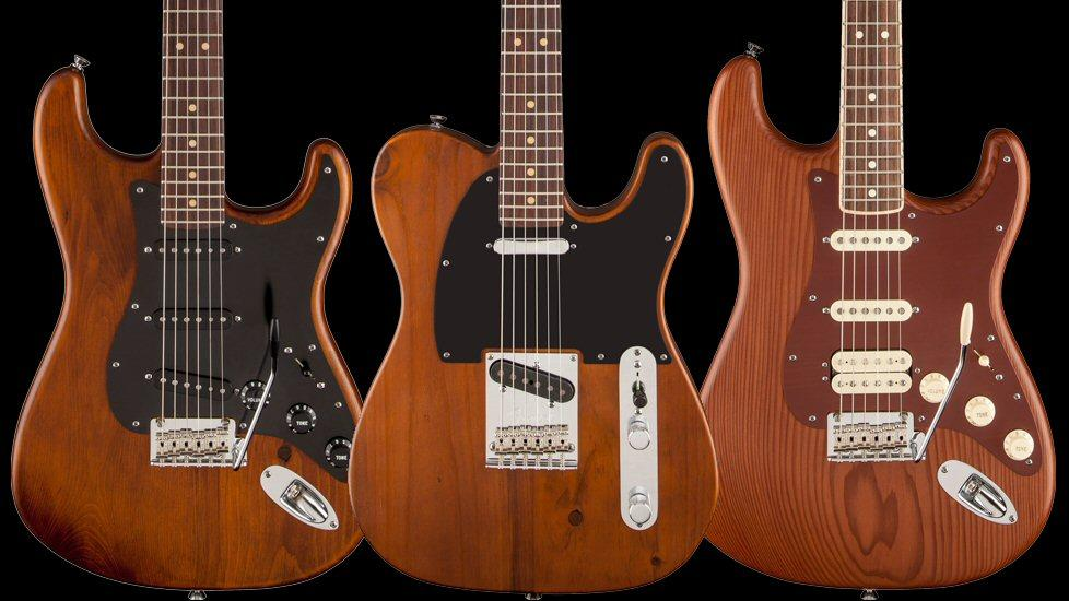 Fender's Special Edition Reclaimed Wood guitars