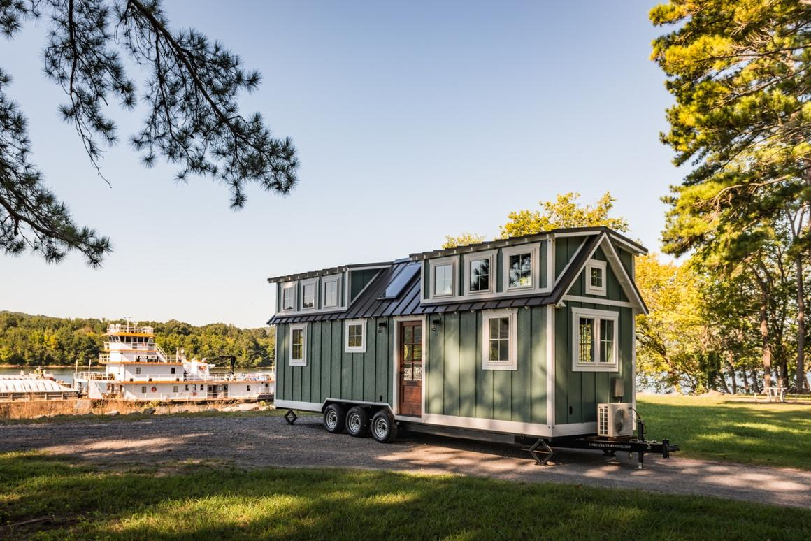 The Ridgewood hastwo loft bedrooms and sleeps up to four