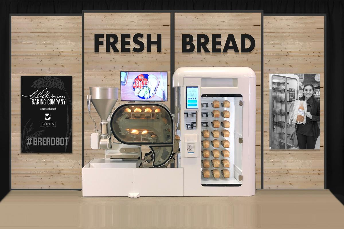 The BreadBot is designed for grocery stores and other locations