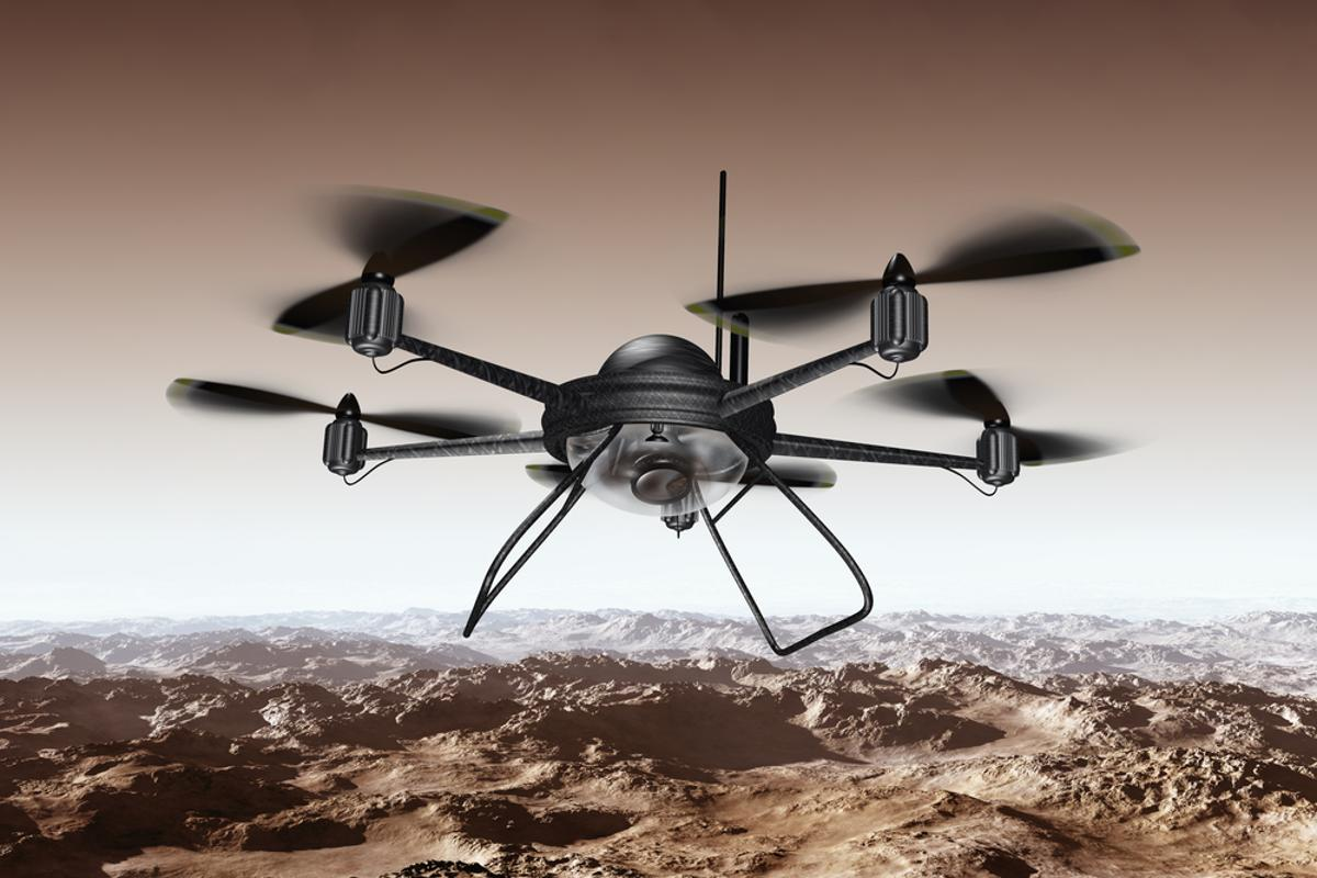The UAE is planning to use drones to deliver official government documents (Photo: Shutterstock)
