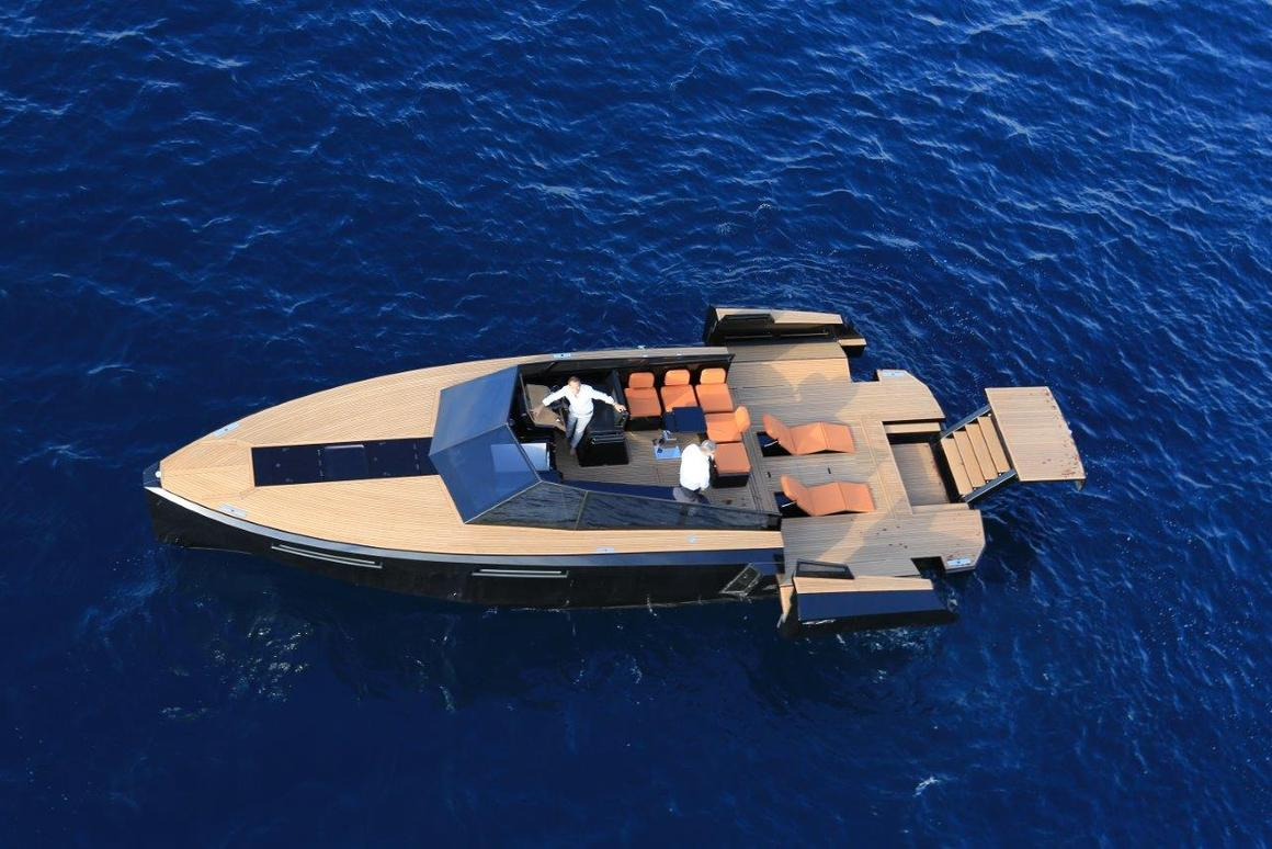 Ready for speed and relaxation on the water