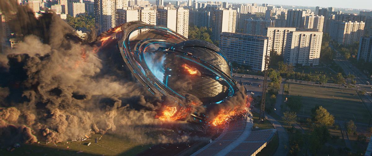 Houdini's extraordinary procedural CG physics make for some stunning destruction and mayhem scenes