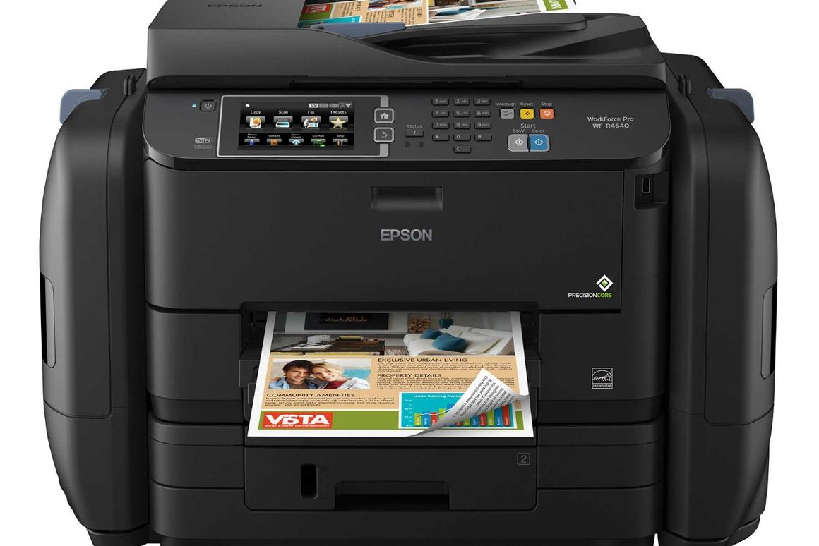 Epson's EcoTank WorkForce Pro model comes with ink for 20,000 black and color pages