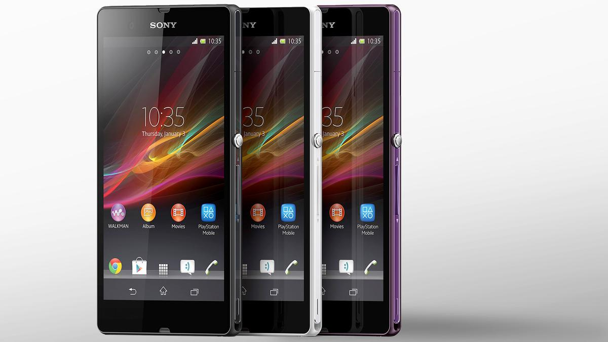 At CES 2013, Sony unveiled the high-end Xperia Z smartphone