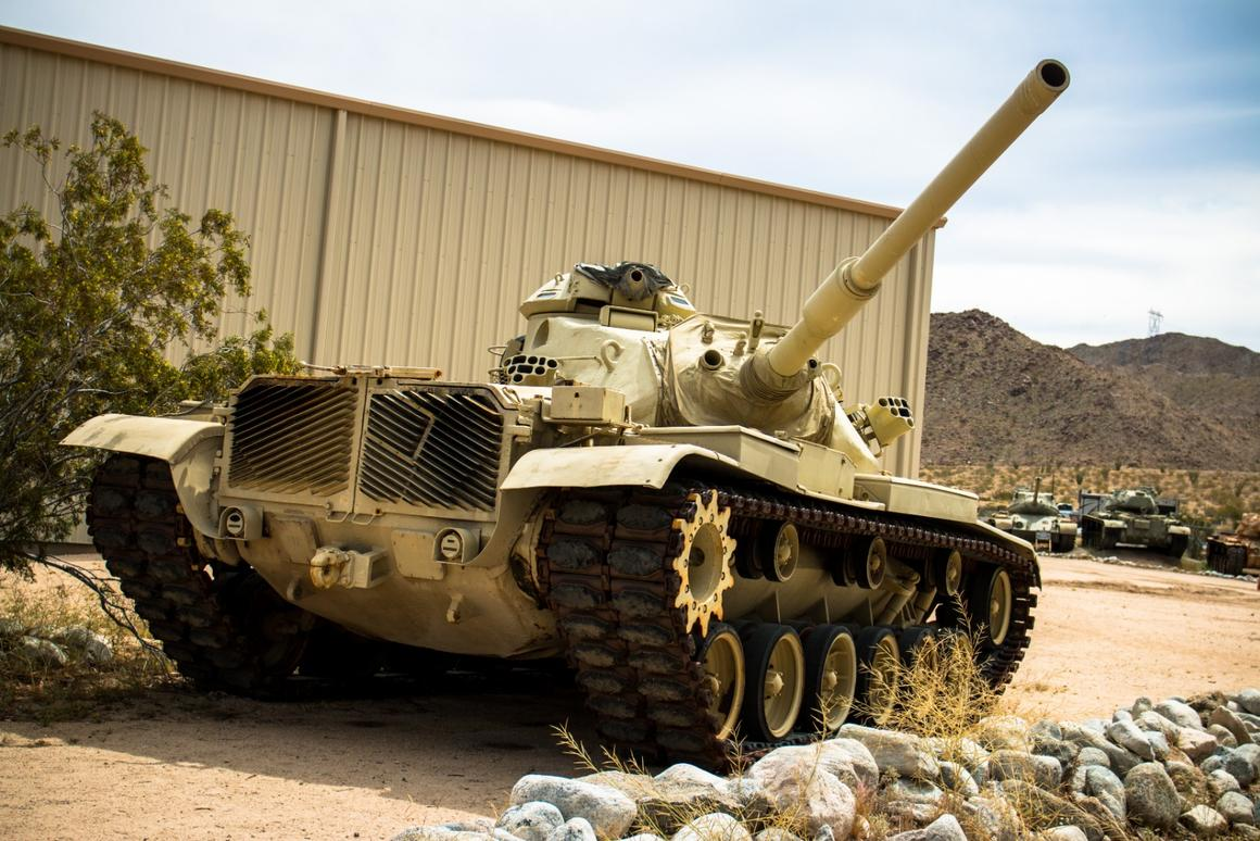 In pictures: The General Patton Tank Museum