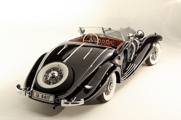 Baroness Gisela von Krieger's 1936 Mercedes-Benz 540K Special Roadster was sold by Gooding & Co for US$11,770,000 at Pebble Beach in 2012