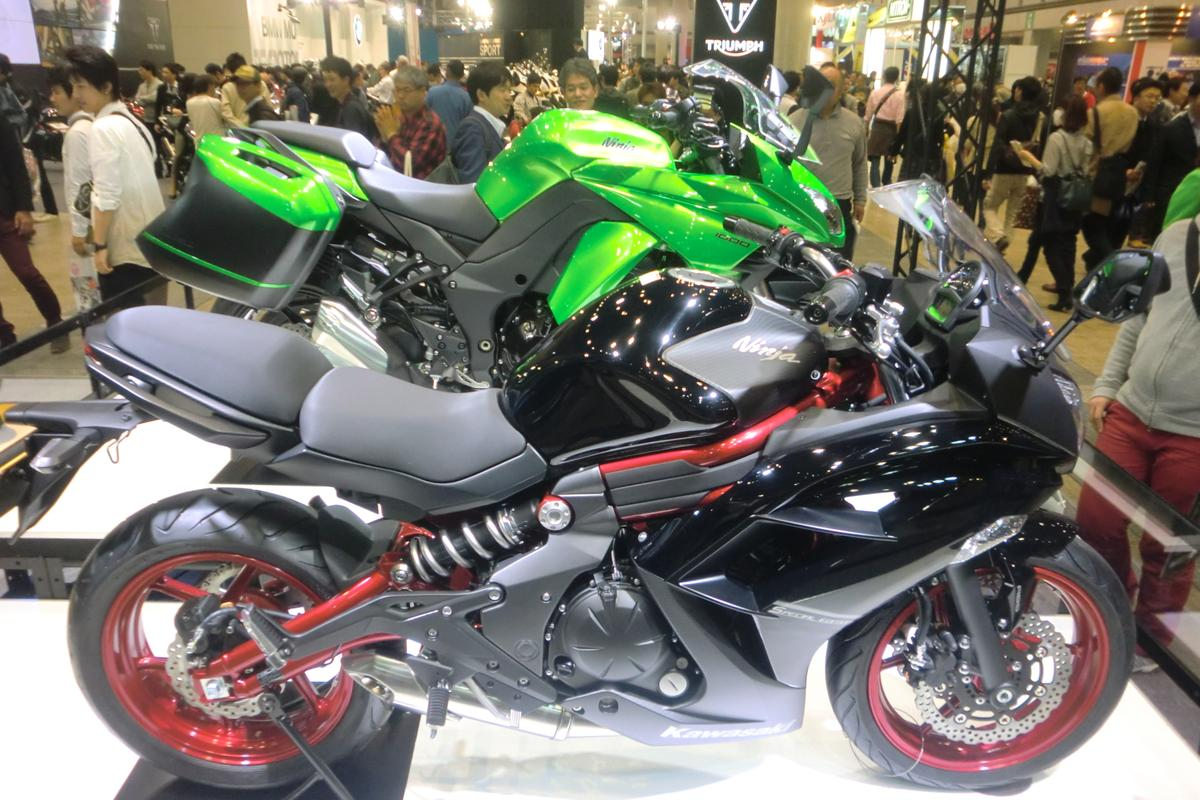 The Kawasaki 650 Ninja and the Ninja