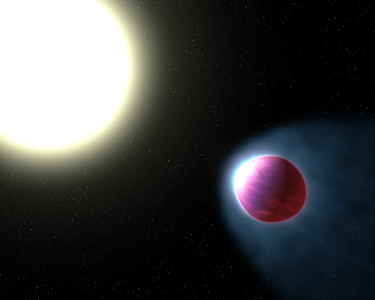 WASP-121b is the first exoplanet where signs of a stratosphere can be seen