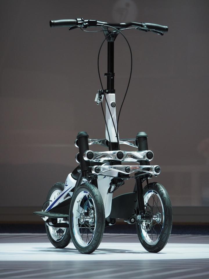 Yamaha eyes production for its oddball Tritown tilting three