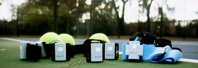 Pivot is a lightweight multi-sensor wearable for tennis players