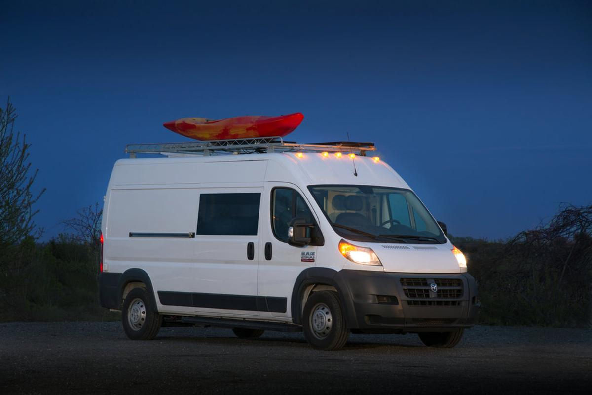 Another van converter has developed its vision of the perfect van life home