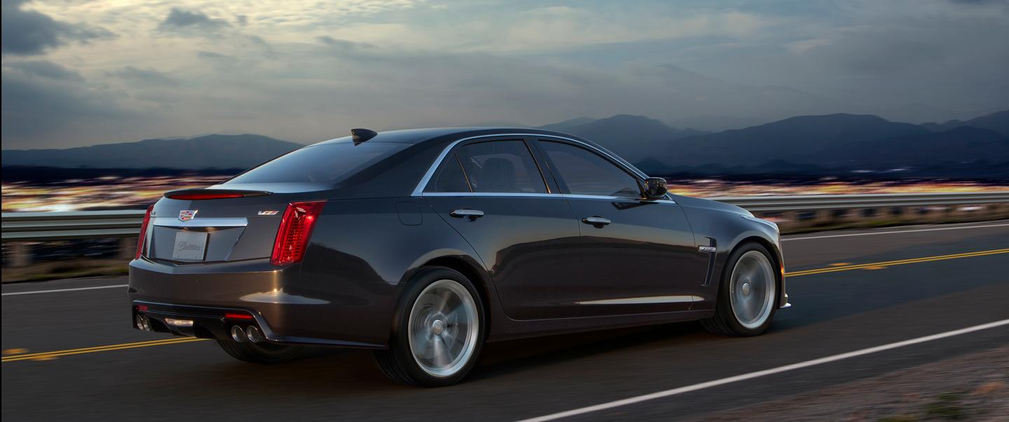 The CTS-V is powered by a 6.2-liter V8