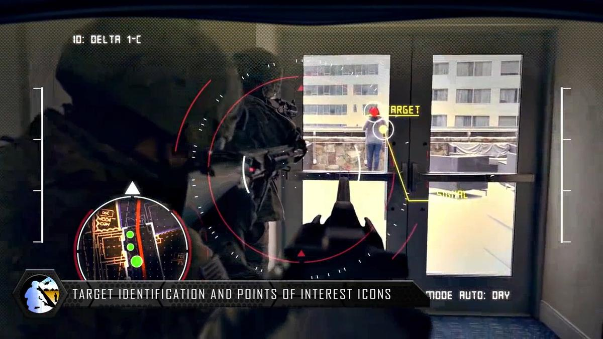 The USArmy has revealed its new head-up display system called Tactical Augmented Reality