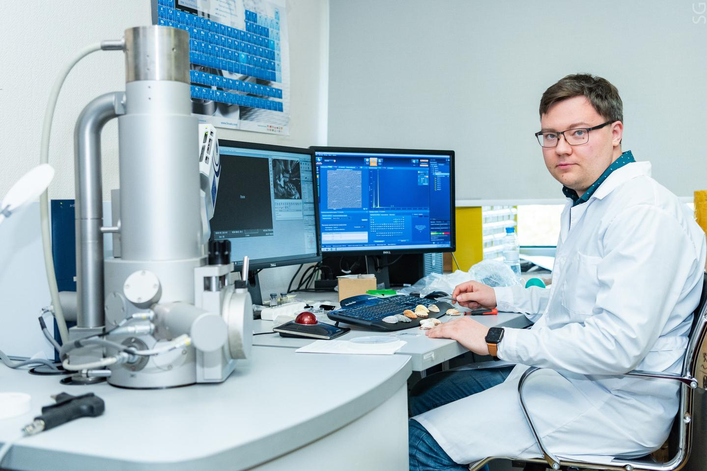 Evgeny Kolesnikov and a team of material scientists at Russia's National University of Science and Technology MISIS have developed a promising new anode material for lithium batteries