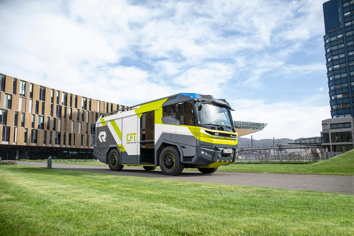 Amsterdam is set to become the second European capital to welcome an electric fire truck into its fleet