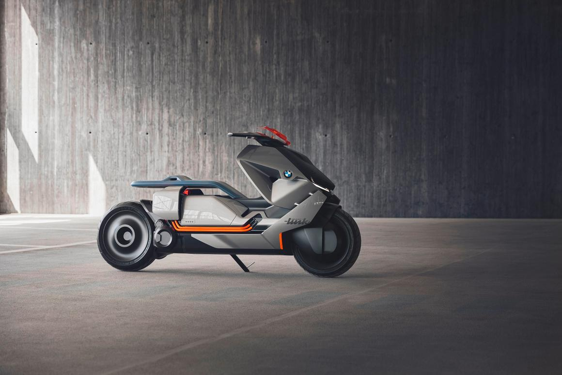 BMWMotorrad's Concept Link is the fifth model under the Vision Next 100 banner