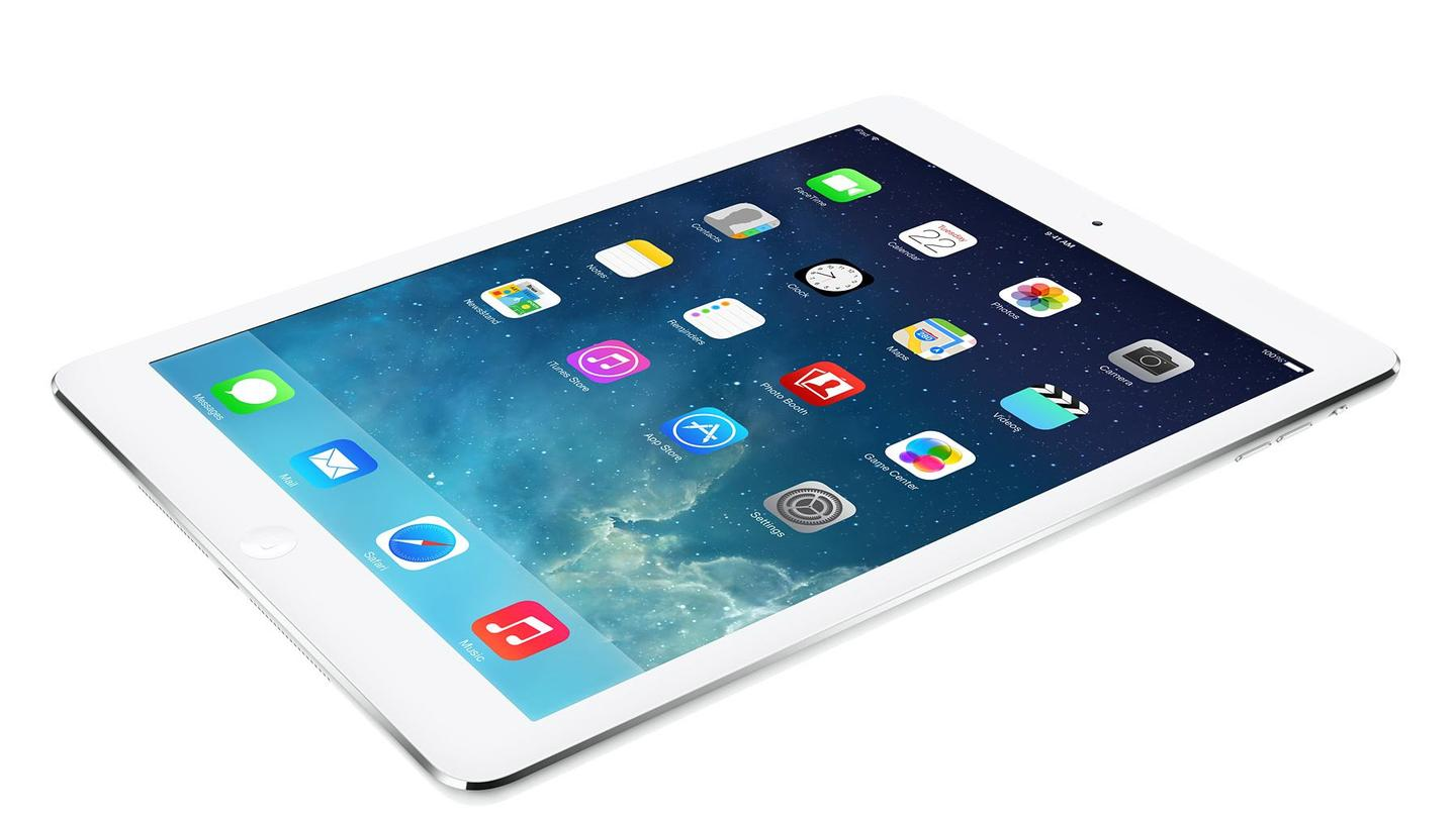 The iPad Air is 30 percent lighter than 2012's 4th-gen iPad with Retina Display