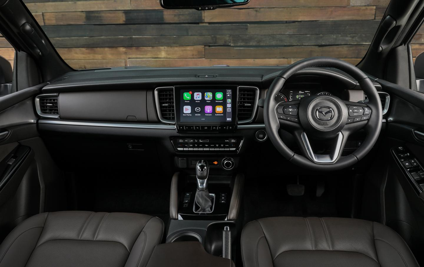 At the wheel of the new Mazda BT-50