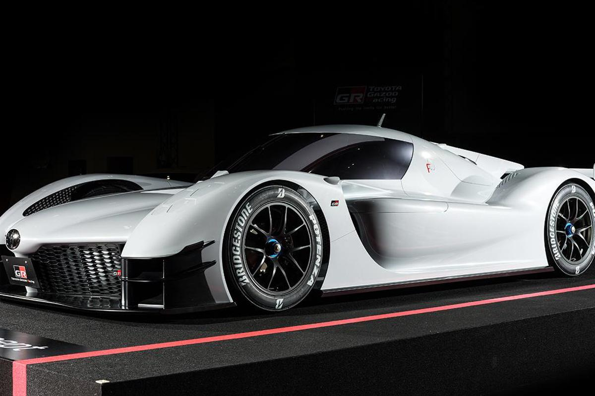 The Toyota GR Super Sports Concept